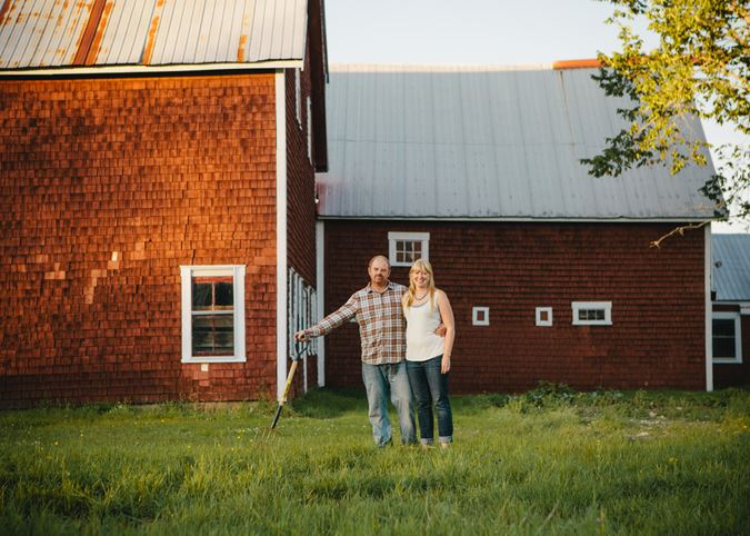 Sarah and Craig Conley - the entrepreneurs behind Ticklebelly Hill